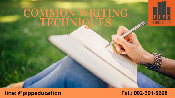 Common Writing Techniques