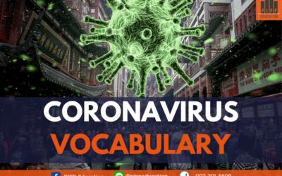 Vocab for Coronavirus