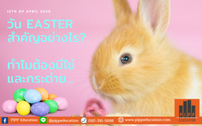 วัน Easter สำคัญอย่างไร ทำไมต้องมีไข่และกระต่าย